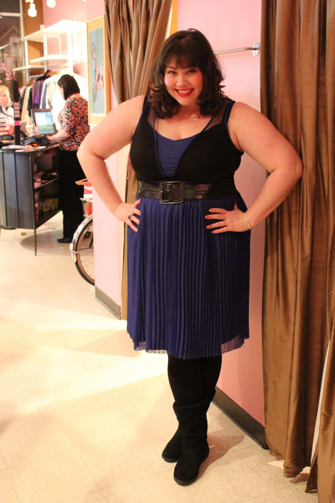 Not So Blue In Lucielu A Cute And Flirty Plussize Line